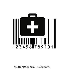 Barcode. Vector illustration.