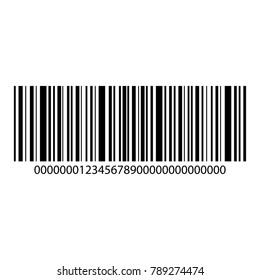 Barcode vetor icon