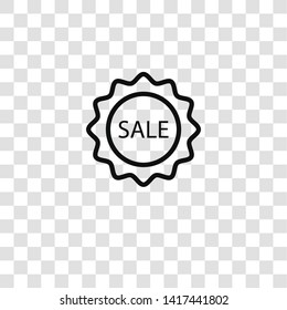 bargain icon from seo and marketing collection for mobile concept and web apps icon. Transparent outline, thin line bargain icon for website design and mobile, app development