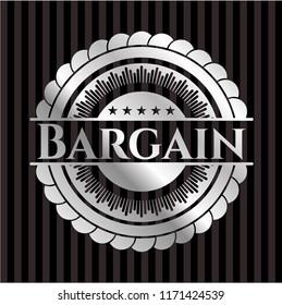 Bargain silver emblem or badge