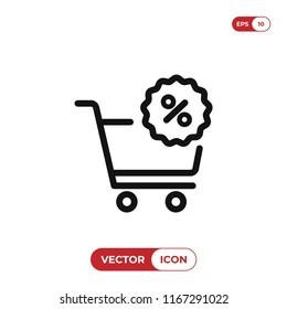 Bargain vector icon