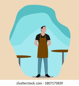 A barista or restaurant waiters (exemplary employees)