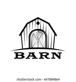 Barn logo vector
