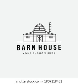 barn wood logo vector illustration design graphic