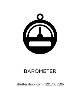 Barometer icon. Barometer symbol design from Nautical collection. Simple element vector illustration on white background.