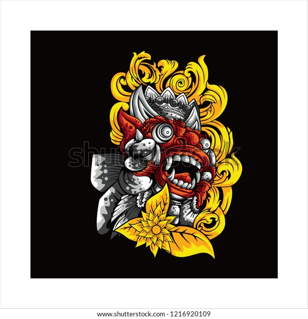 barong bali icon bali vector design stock vector royalty free 1216920109 https www shutterstock com image vector barong bali icon vector design 1216920109