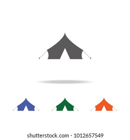 Barracks, military tent  icon . Elements of Military multi colored icons. Premium quality graphic design icon. Simple icon for websites, web design, mobile app, info graphics on white background