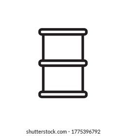 Barrel Icon Design Vector Template