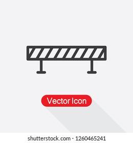 Barrier Icon Vector Illustration Eps10