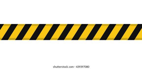 Barrier line icon. Under construction design. vector graphic