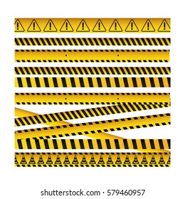 barrier tape ribbon icon image, vector illustration design