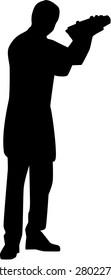 Bartender Barman Silhouette