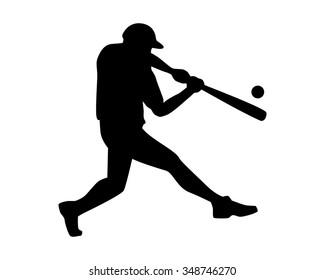 base ball logo icon vector silhouette