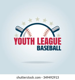 Baseball badge, sport logo, team identity,vector illustration