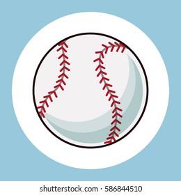 baseball ball equipment icon