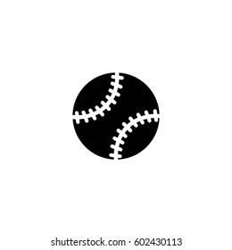 baseball ball vector icon