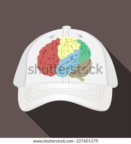 Baseball Cap Design Template Stock Vector Royalty Free 227601379
