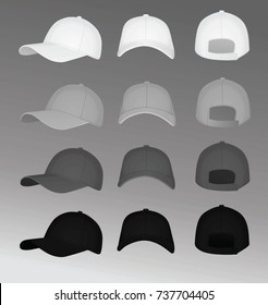 Baseball cap. vector illustration