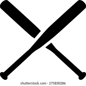 crossed baseball bats images stock photos vectors shutterstock rh shutterstock com Baseball Bat Line Crossed Baseball Bats Silhouette