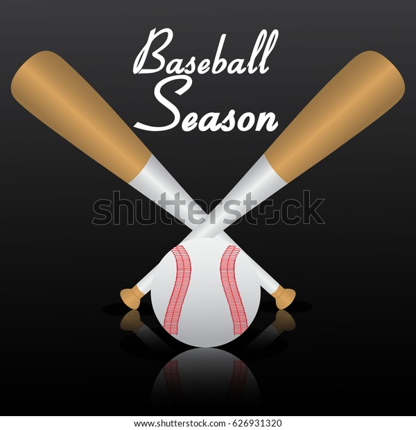 Baseball design illustration vector