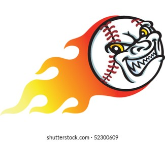 Baseball Flame