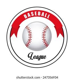 baseball game design, vector illustration eps10 graphic