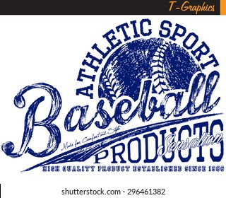 baseball graphics,vintage graphics on white background