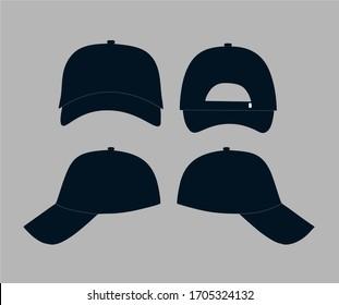 baseball hat a vector design in format eps