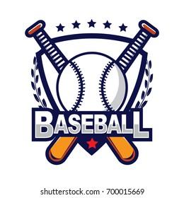 Baseball Logo, American Logo Sport