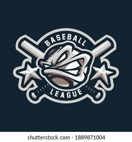 Baseball mascot design for sport or e-sport team