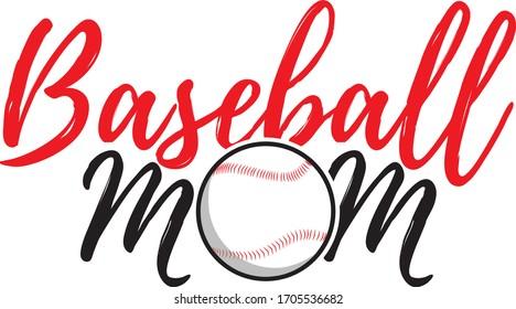 baseball mom mother day printable template