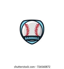 Baseball Sport Logo Emblem Vector