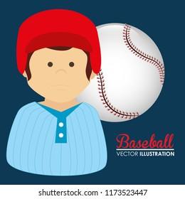 baseball sport player character