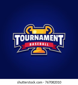 Baseball Tournament Logo Sport