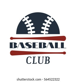 Baseball tournament professional badge vector.