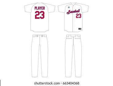 Baseball Uniform // plain