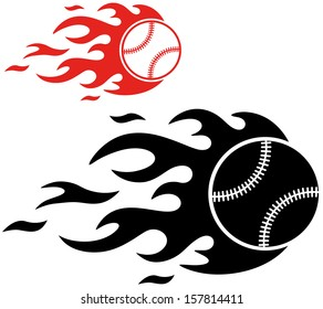 Baseball. Vector Illustration