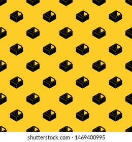 Basement window frame pattern seamless vector repeat geometric yellow for any design