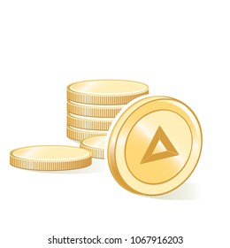 Basic Attention Token Cryptocurrency Coin Stacks