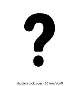 Basic design of question mark icon vector