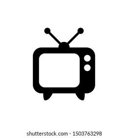 Basic design of television/TV icon