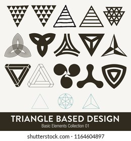 Basic element collection: Triangle based design