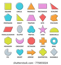 Basic Shapes Images, Stock Photos & Vectors | Shutterstock