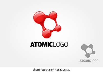 The basic of this logo is an abstract logo, but we can look an atom, connection, net, square, dot, or molecular. It's can symbolize anything that related with arts and technology.