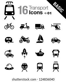 Basic - Transportation icons