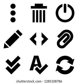 Basic Web Design Icons