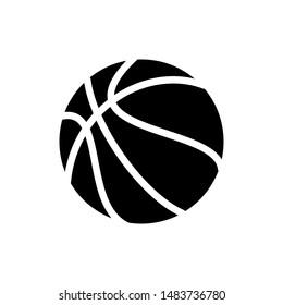 Basket Ball Symbol Icon Vector Design Illustration