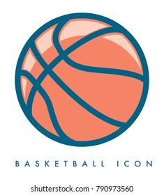 basket ball vector icon