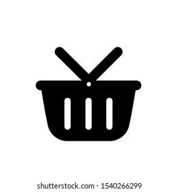 Basket icon,vector illustration. Flat design style. vector basket icon illustration isolated on White background, basket icon Eps10. basket icons graphic design vector symbols.