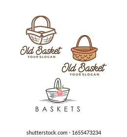 Basket Logo Image Stock for All Purpose